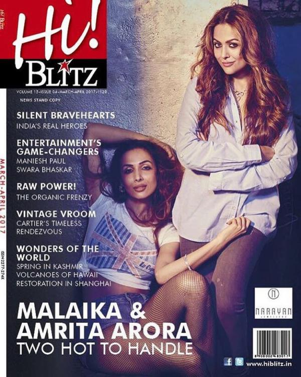 Kareena Kapoor's Sidekicks are on the cover of Hi Blitz