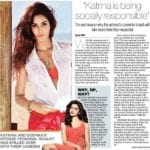 Katrina Kaif still wants you to believe L'Oreal didn't fire her