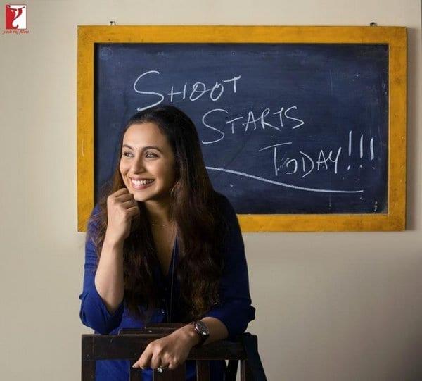 Rani Mukerji starts shooting for Hichki