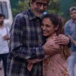 Rani Mukherji meets Amitabh Bachchan with a hug