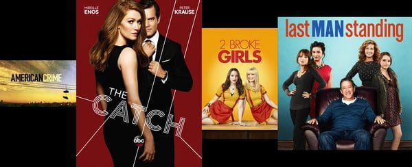 2 Broke Girls, American Crime, The Catch, Last Man Standing and many more TV Shows canceled