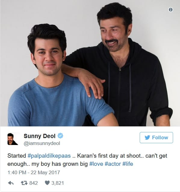 Are you ready for the son of Sunny Deol, Karan