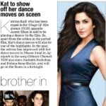 Katrina Kaif will get to dance in Thugs of Hindostan
