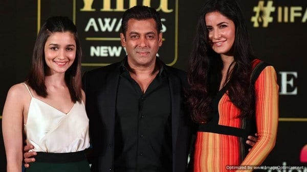 Katrina Kaif and Salman Khan are back to being slap buddies