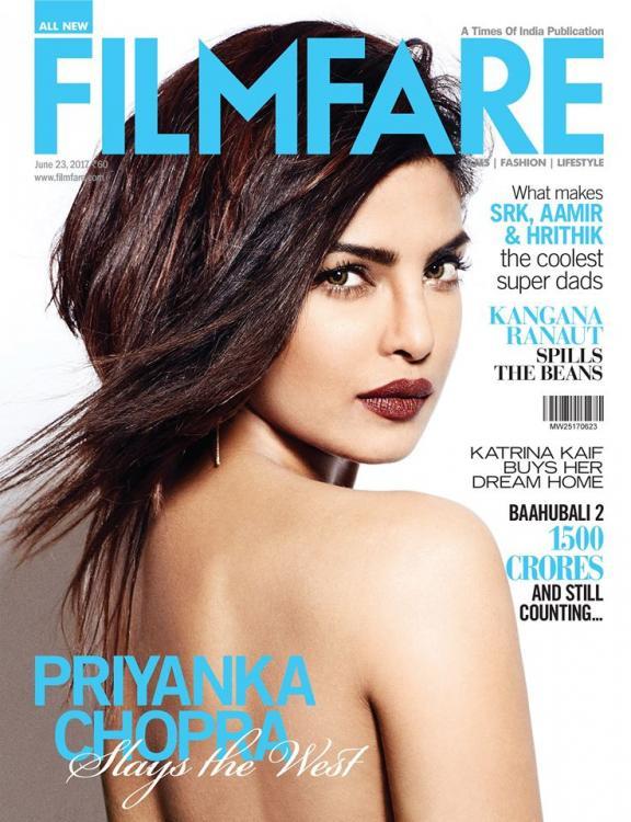 Priyanka Chopra on Filmfare Magazine