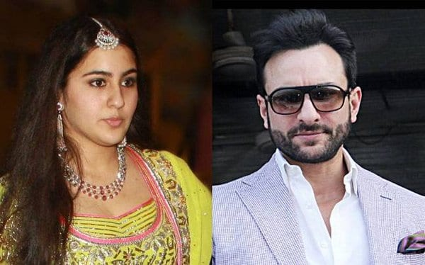 Saif Ali Khan is changing his mind about his daughter's debut in Bollywood