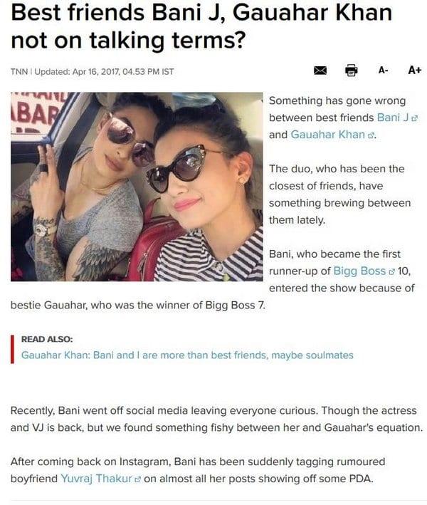 Bollywood Blind Item 3 – August 2017