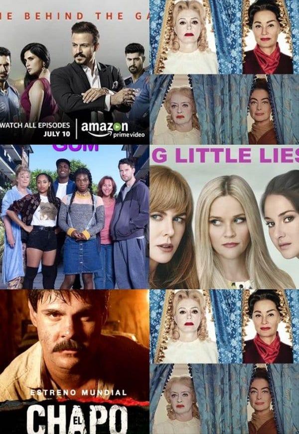 OSOP TV Recommendations: Inside Edge, Big Little Lies, Feud, Chewing Gum and El Chapo