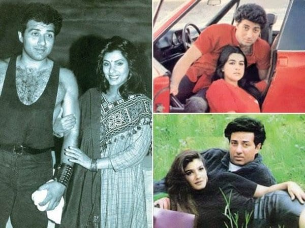 Sunny Deol and Dimple Kapadia have finally been spotted together
