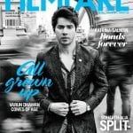 Varun Dhawan looks like he needs to use the bathroom on the cover of Filmfare Magazine