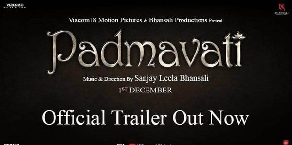 The trailer of Padmavati is probably the most beautiful visual you will see this year