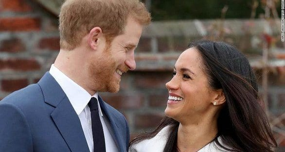 Prince Harry and Meghan Markle make their first official appearance to announce their engagement
